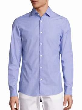 Michael Kors Slim-Fit Cowan Button-Down Shirt