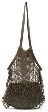 Vetements Granny Medium Leather Bag - Womens - Green