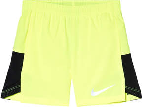 Nike Yellow Volt and Black Challenger Shorts