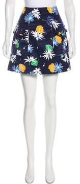 Creatures of the Wind Velvet Mini Skirt