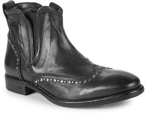 John Varvatos Men's Fleetwood Wing-Tip Leather Chelsea Boots