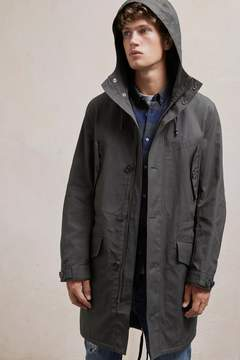 French Connection Canvas Wax Parka Jacket