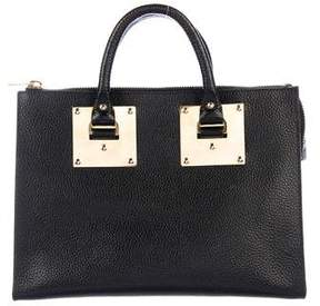 Sophie Hulme Leather Albion Satchel