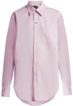 Martine Rose Oversized cotton shirt