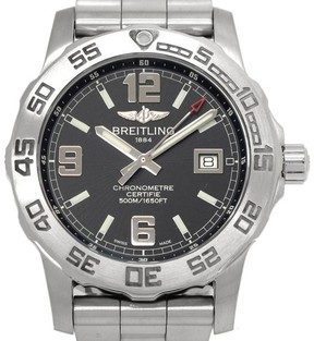 Breitling Colt A74387 Stainless Steel Quartz Mens 44mm Watch