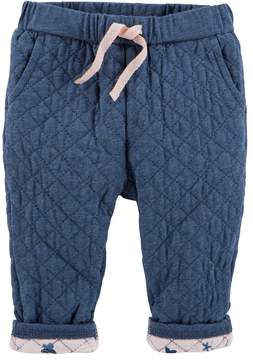 Osh Kosh Baby Girl Quilted Pull-On Pants