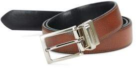 Black & Brown Black Brown Square Buckle Belt