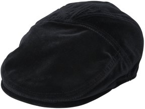 Cotton Velvet Flat Cap