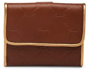 Longchamp LM Cuir Leather Deluxe Bifold Wallet - OAK BROWN - STYLE