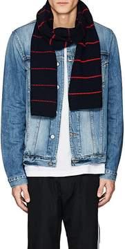 Barneys New York Men's Striped Wool-Cashmere Scarf