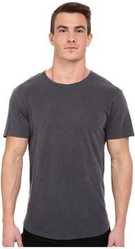 Alternative Washed Out Slub Crew Men's T Shirt