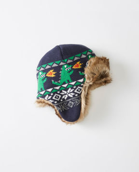 Hanna Andersson Fur Trim Trapper Hat