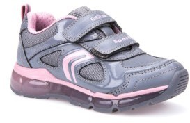 Geox Toddler Girl's 'Jr Android 2' Light-Up Sneaker