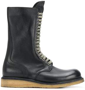 Rick Owens para sole army boots