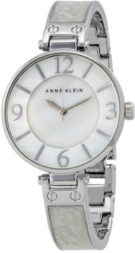 Anne Klein White Mother of Pearl Dial Ladies Watch