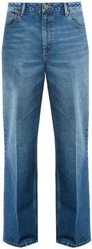 Raey 1970s press-front jeans