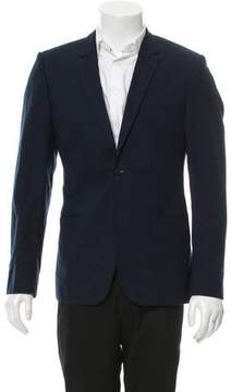 Calvin Klein Collection Two-Button Notch-Lapel Blazer