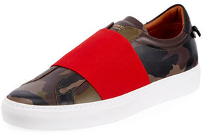 Givenchy Urban Street Camouflage-Print Slip-On Sneaker