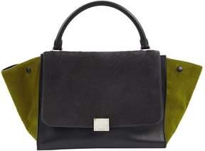 Celine Trapèze pony-style calfskin bag