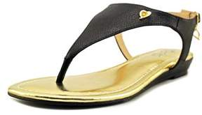 Thalia Sodi Isaa Open Toe Synthetic Thong Sandal.