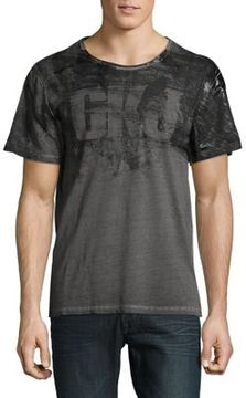 Calvin Klein Jeans Distressed Storm Cotton Tee