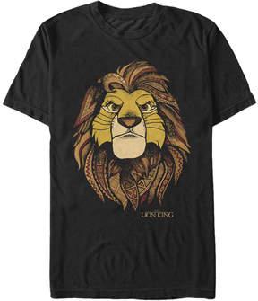 Fifth Sun The Lion King Black Simba Tee - Men