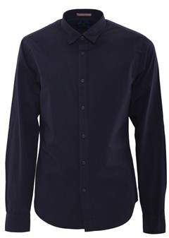 Scotch & Soda Men's Blue Cotton Shirt.