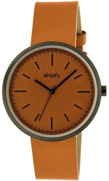 Simplify The 3000 Collection SIM3003 Unisex Watch with Leather Strap