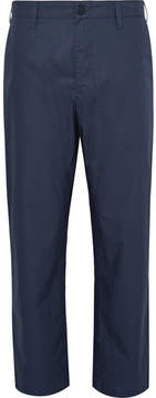 Norse Projects Harri Wide-Leg Tech-Cotton Poplin Trousers