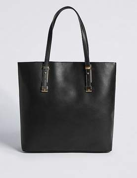 Marks and Spencer Faux Leather Carry All Shopper Bag