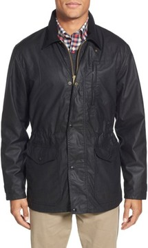 Filson Men's 'Cover Cloth Mile Marker' Waxed Cotton Coat