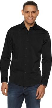 Apt. 9 Men's No-Iron Stretch Button-Down Shirt