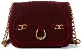 Lauren Ralph Lauren Velvet Cross-Body Bag