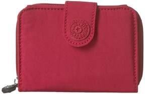Kipling New Money Print Wallet Handbags