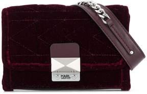 Karl Lagerfeld X Kaia Velvet Bum Bag