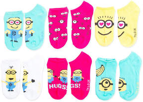 Asstd National Brand Despicable Me 5-pk. Minions No-Show Socks - Girls
