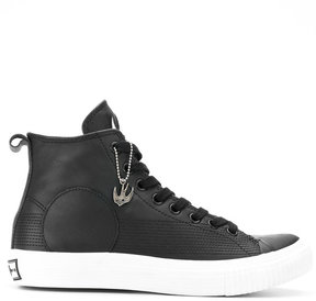 McQ Swallow Plimsoll high top sneakers