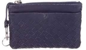 Bottega Veneta Intrecciato Leather Zip Pouch