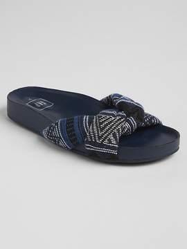 Gap Twist-Strap Slide Sandals