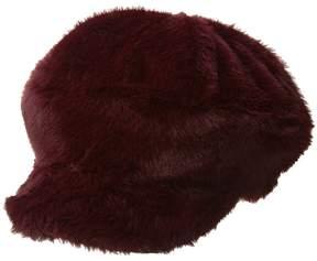 Steve Madden Fur Baker Hat Caps
