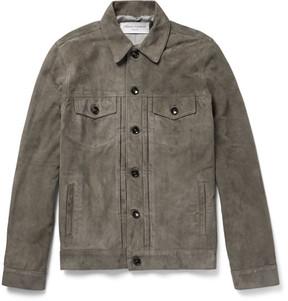 Officine Generale Liam Suede Jacket