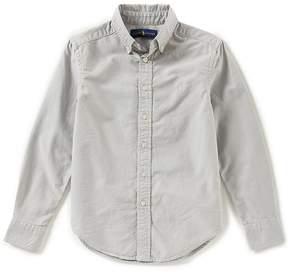 Ralph Lauren Big Boys 8-20 Long-Sleeve Oxford Sportshirt