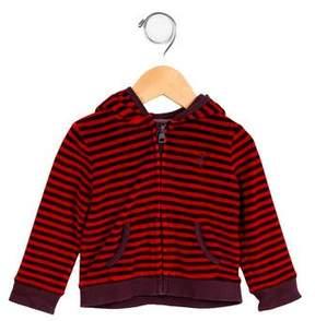 Burberry Boys' Striped Velour Jacket