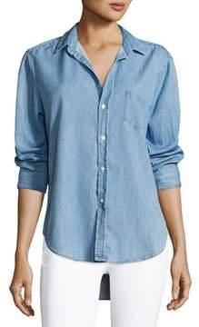 Frank And Eileen Eileen Long-Sleeve Denim Button-Down Shirt