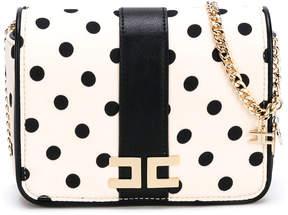 Elisabetta Franchi La Mia Bambina polka-dot shoulder bag