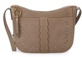 Frye Ilana Perforated Suede Crossbody Bag