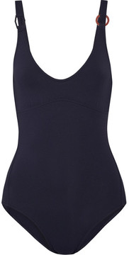 Eres Geometrique Swimsuit - Midnight blue