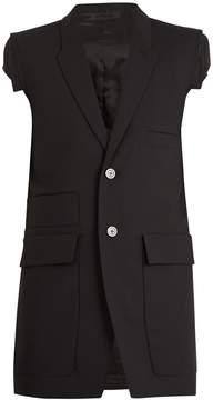Rick Owens Multipocket sleeveless jacket