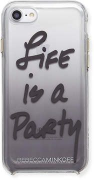 Rebecca Minkoff Life Is A Party Ombré Phone Case, Black
