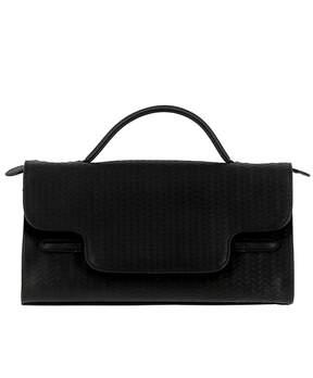 Zanellato Nero Leather Handbag
